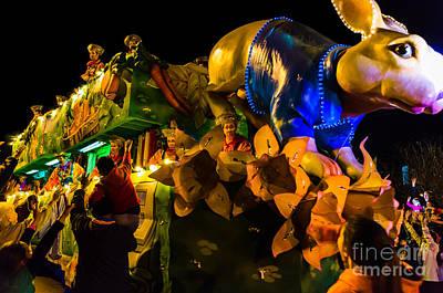 Photograph - Mardi Gras Float- Nola by Kathleen K Parker
