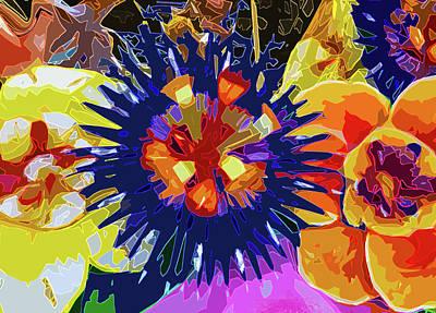 Digital Art - Mardi Gras by Gina Harrison