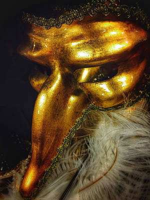Photograph - Mardi Gras Gold by Mark David Gerson