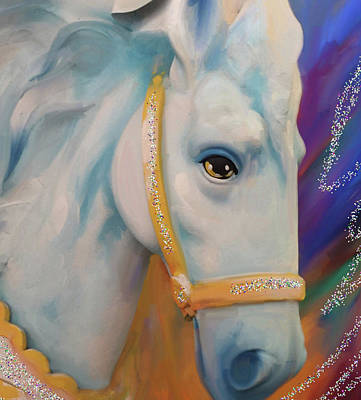 Digital Art - Mardi Gras Horse by Julianne Ososke
