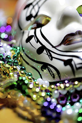 Mardi Gras I Art Print by Trish Mistric