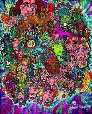 Daydreams Art Drawing - Mardi Gras by Jason Reidelbach