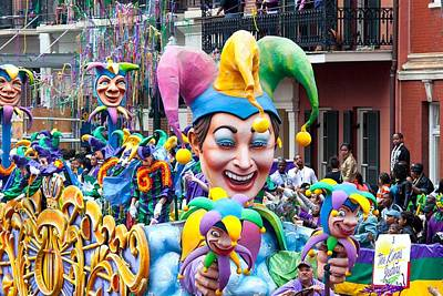 Photograph - Mardi Gras Jester by Carol M Highsmith