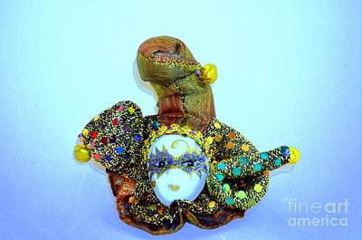Photograph - Mardi Gras Jester No 2 by Mary Deal