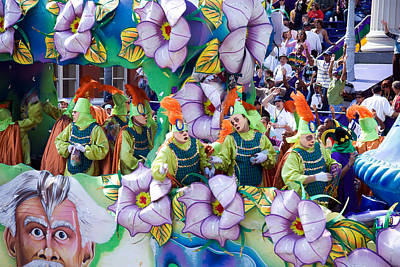 Photograph - Mardi Gras Krewe by Carol M Highsmith