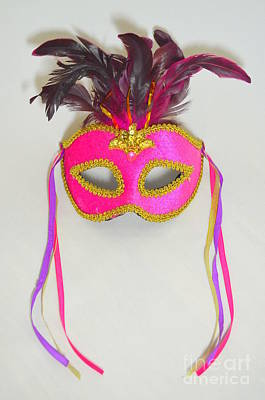 Mardi Gras Mask No 1 Art Print
