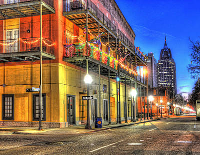 Photograph - Mardi Gras Mattress Factory Mobile Alabama by Michael Thomas