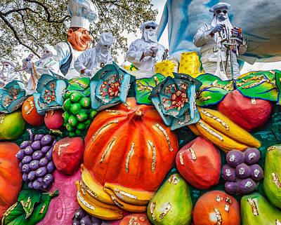 Mardi Gras - New Orleans 2 Art Print