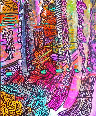 Painting - Mardi Gras by Nikki Dalton