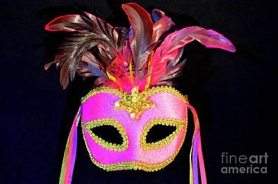 Mardi Gras No 4 Art Print