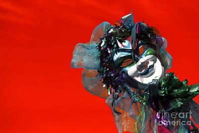 Photograph - Mardi Gras Smile Pop Art by John Rizzuto
