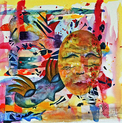 Painting - Mardi Gras by Terri Mills
