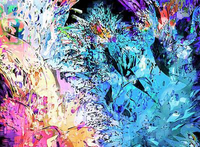 mardiGras Art Print by Harry Hunsberger