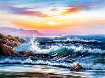 Mare Di Settembre Original by Fabio Saolini