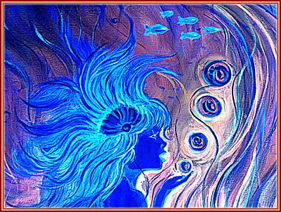 Painting - Maremaid  by Yolanda Rodriguez