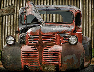 Digital Art - Marfaks Low Rider by Gary Baird