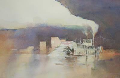 Ohio River Painting - Margaret At Pittsburgh by Robert Yonke