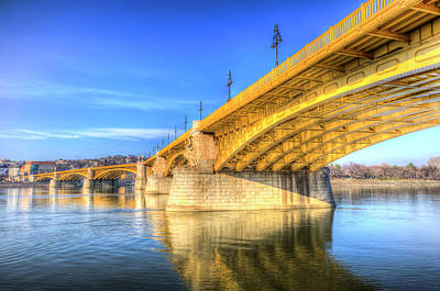 Photograph - Margaret Bridge Budapest by David Pyatt