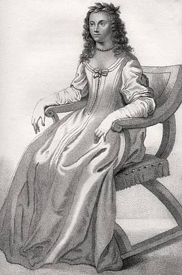 Duchess Drawing - Margaret Cavendish Nee Lucas Duchess Of by Vintage Design Pics