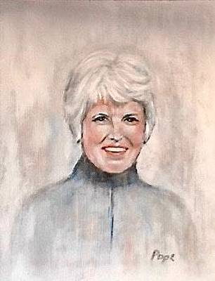 Painting - Margaret Gaffin Pope by Bruce Ben Pope