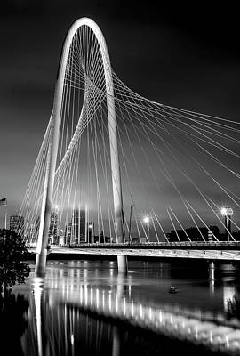 Photograph - Margaret Hunt Hill Bridge Bw 82216 by Rospotte Photography