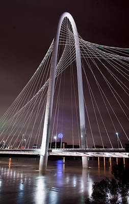 Photograph - Margaret Hunt Hill Bridge Reflection by Rospotte Photography
