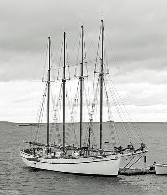 Ship Photograph - Margaret Todd by Betsy Knapp