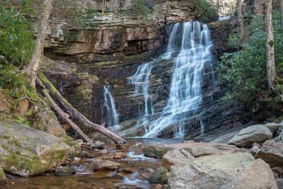 Photograph - Margarette Falls by Chris Berrier