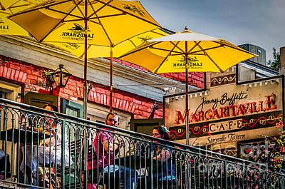 Photograph - Margaritaville Balcony Nola by Kathleen K Parker
