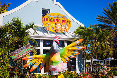 Photograph - Margaritaville Trading Post by Diane Macdonald