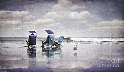 Photograph - Margate Beach Relaxation by Alissa Beth Photography