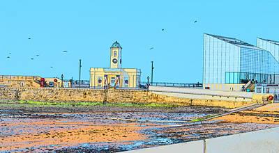 Digital Art - Margate Harbour by Wendy Le Ber