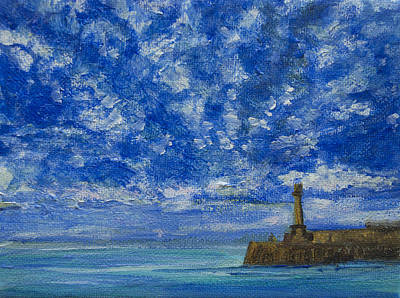 Painting - Margate Sea And Sky by Wendy Le Ber