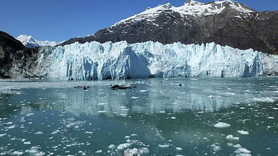 Photograph - Margerie Glacier 1 by Judy Wanamaker