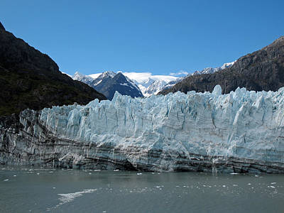 Photograph - Margerie Glacier And Mount Fairweather by Connie Fox