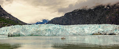 Photograph - Margerie Glacier by Ed Clark