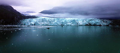 Photograph - Margerie Glacier by Mitch Cat