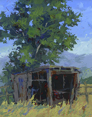 Painting - Marginal Shelter by David King