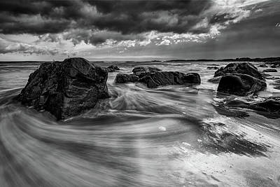 Photograph - Marginal Way In Black And White by Rick Berk