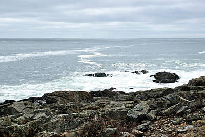 Photograph - Marginal Way Ogunquit Maine by Luke Moore