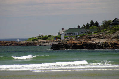 Perkins Cove Painting - Marginal Way Perkins Cove Ogunquit Me by Imagery-at- Work