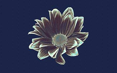 Nobody Painting - Margriet Flower Poster by Celestial Images