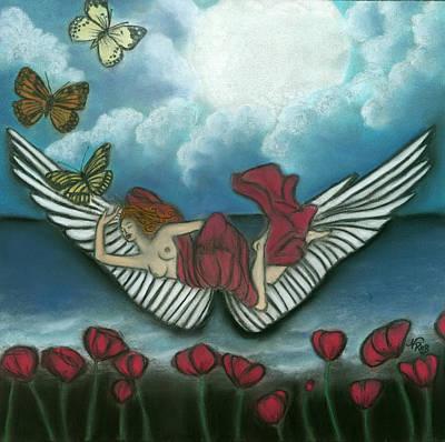 Mari Goddess Of Dreams Art Print by Natalie Roberts