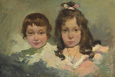 Painting - Maria And Joaquin by Joaquin Sorolla
