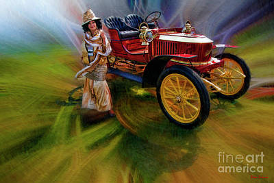 Photograph - Maria Bonita And 1906 Stanley Model H by Blake Richards