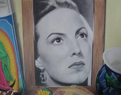 Maria Bonita Art Print by Lynet McDonald