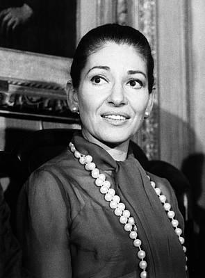 Photograph - Maria Callas by Granger