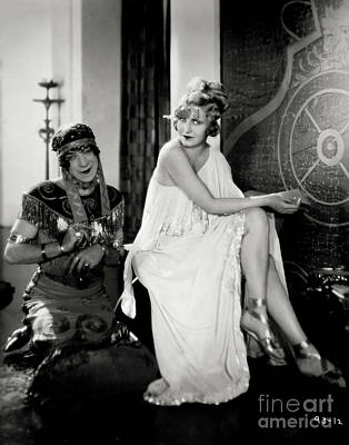 Gay Interest Photograph - Maria Corda The Private Life Of Helen Of Troy 1927 by Sad Hill - Bizarre Los Angeles Archive