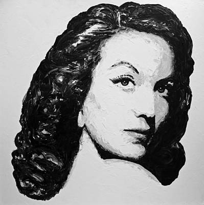 Mexican Decoration Painting - Maria Felix by Havi
