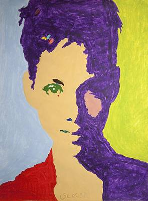 Exotic Painting - Maria Halle Berry by Stormm Bradshaw